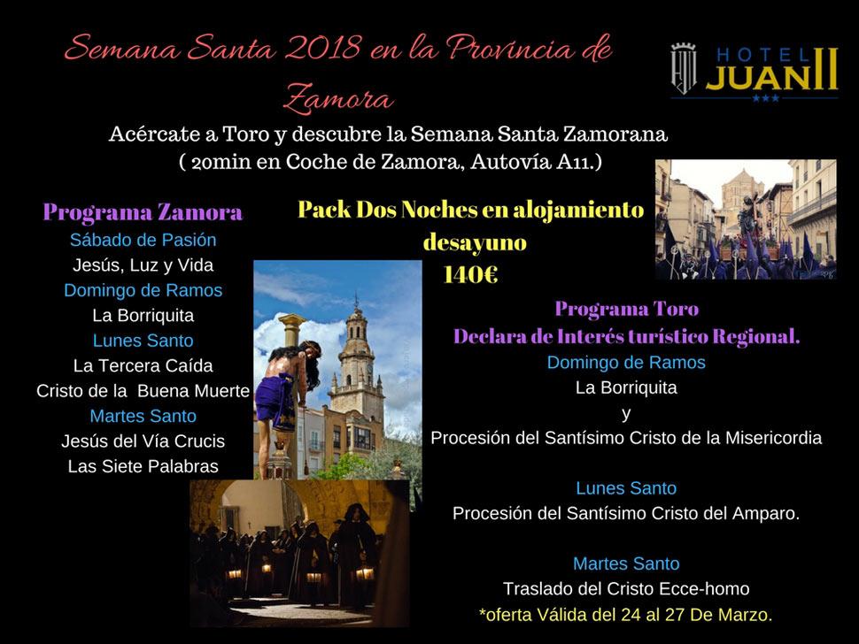 Semana Santa 2018 En La Provincia De Zamora Hotel En Toro Zamora